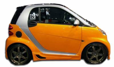 Extreme Dimensions 16 - Smart ForTwo Duraflex FX Side Skirts Rocker Panels - 2 Piece - 105668