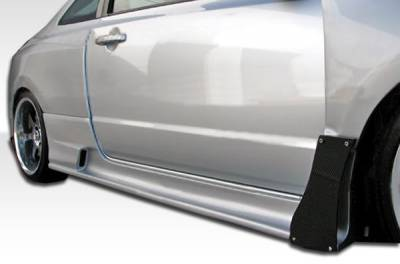 Extreme Dimensions 16 - Honda Civic 2DR Duraflex GT500 Wide Body Side Skirts Rocker Panels - 2 Piece - 105689