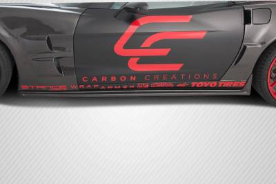 Carbon Creations - Chevrolet Corvette Carbon Creations ZR Edition Side Skirts Rocker Panels - 2 Piece - 105770