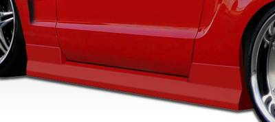 Extreme Dimensions 16 - Ford Mustang Duraflex Hot Wheels Side Skirts Rocker Panels - 2 Piece - 105858