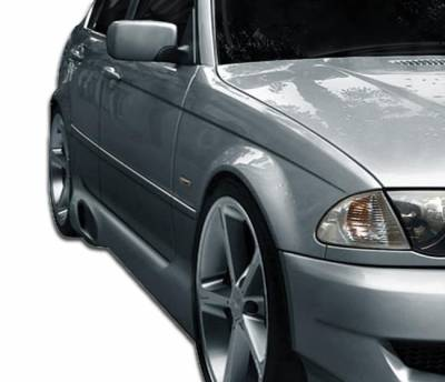 Extreme Dimensions 16 - BMW 3 Series Duraflex I-Design Side Skirts Rocker Panels - 2 Piece - 106508