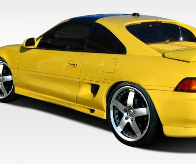 VIS Racing - Toyota MR2 Duraflex G-Spec Side Skirts Rocker Panels - 2 Piece - 106625
