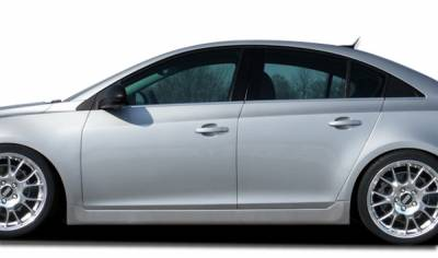 Extreme Dimensions 16 - Chevrolet Cruze Couture RS Look Side Skirts Rocker Panels - 2 Piece - 106923