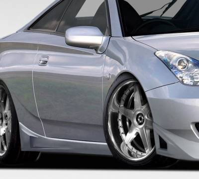 AIT Racing - Toyota Celica Duraflex RM Design Side Skirts Rocker Panels - 2 Piece - 107023