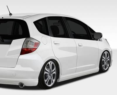 Extreme Dimensions 16 - Honda Fit Duraflex A-Spec Side Skirts Rocker Panels - 2 Piece - 107734