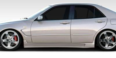 Extreme Dimensions 16 - Lexus IS Duraflex C-Speed Side Skirts Rocker Panels - 2 Piece - 107769