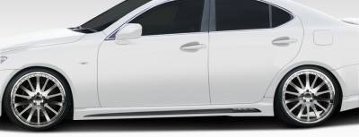 Extreme Dimensions 16 - Lexus IS Duraflex W-1 Side Skirts Rocker Panels - 2 Piece - 107774