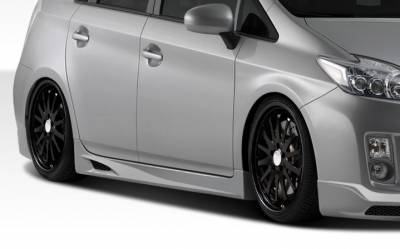 Extreme Dimensions 16 - Toyota Prius Duraflex K-1 Side Skirts Rocker Panels - 2 Piece - 107853