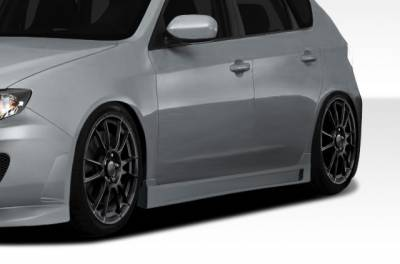 Subaru WRX Duraflex C-Speed 3 Side Skirts Rocker Panels - 2 Piece - 107866