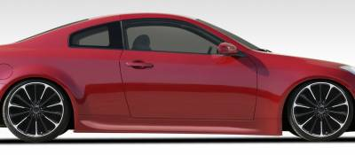 Extreme Dimensions 16 - Infiniti G35 2DR Duraflex Sigma Side Skirts Rocker Panels - 2 Piece - 108073