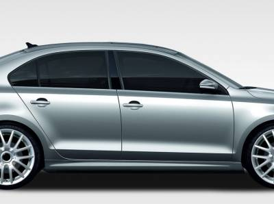 Extreme Dimensions 16 - Volkswagen Jetta Duraflex R Look Side Skirts Rocker Panels - 2 Piece - 108221