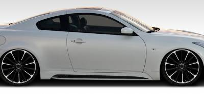 Infiniti G37 Duraflex Elite Side Skirts Rocker Panels - 2 Piece - 108239