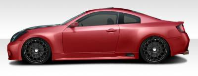 Extreme Dimensions 16 - Infiniti G35 2DR Duraflex GT500 Wide Body Side Skirts Rocker Panels - 2 Piece - 108501