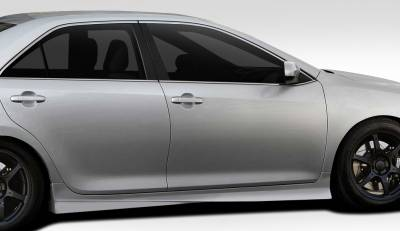 Extreme Dimensions 16 - Toyota Camry Duraflex Racer Side Skirt Rocker Panels - 2 Piece - 109341