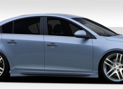 Chevrolet Cruze Duraflex GT Racing Side Skirt Rocker Panels - 2 Piece - 109503