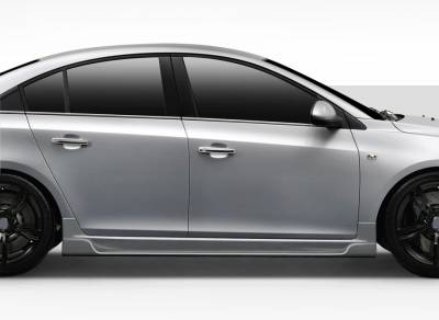 Chevrolet Cruze Duraflex Concept X Side Skirt Rocker Panels - 2 Piece - 109721