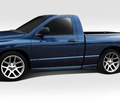 Dodge Ram Duraflex BT-1 Side Skirt Rocker Panels - 4 Piece - 112000