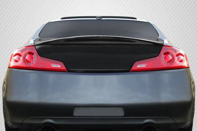 Infiniti G35 2DR Carbon Creations HD-R Trunk - 1 Piece - 107630