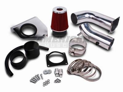 AM Custom - Ford Mustang Cold Air Intake Kit - 14002