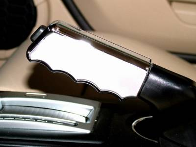 Action Artistry - Ford Mustang Action Artistry Chrome Emergency Brake Handle Cover - 15512