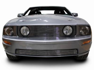 AM Custom - Ford Mustang Billet Grille Combo Kit - 17034