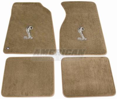 Accufab - Ford Mustang Accufab Cobra Floor Mats - 50031
