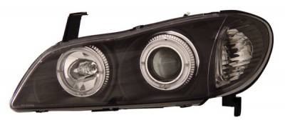 Anzo - Infiniti I-30 Anzo Projector Headlights - with Halo Black - 121077