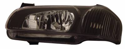 Anzo - Nissan Maxima Anzo Headlights - Crystal & Black - 121110