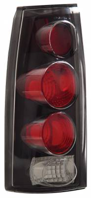 Anzo - GMC CK Truck Anzo Taillights - 3D Style - Black - 211019