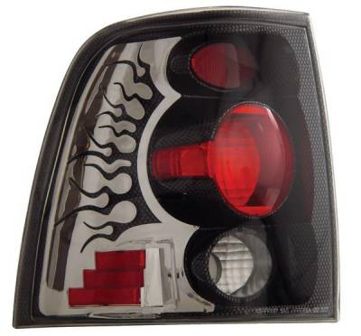 Anzo - Ford Expedition Anzo Taillights - Carbon - 211053