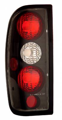 Anzo - Nissan Frontier Anzo Taillights - Black - 211115