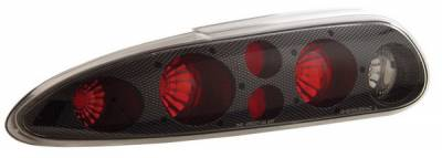 Anzo - Chevrolet Camaro Anzo Taillights - Carbon - 221012