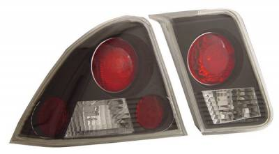 Anzo - Honda Civic 4DR Anzo Taillights - Black - 221048