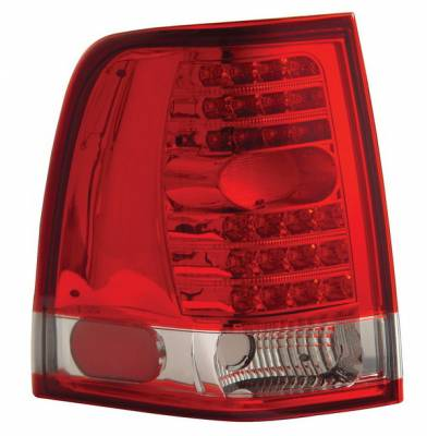Anzo - Ford Expedition Anzo LED Taillights - Red & Clear - 311046