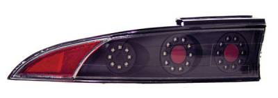 Anzo - Mitsubishi Eclipse Anzo LED Taillights - Black - 3PC - 321057