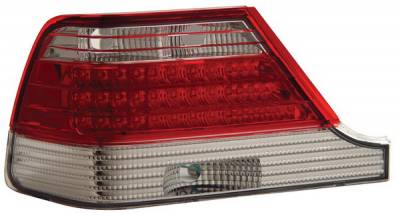Anzo - BMW 7 Series Anzo LED Taillights - Red & Clear - 321071