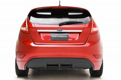 3dCarbon - Ford Fiesta 3dCarbon Rear Lower Skirt - 691622