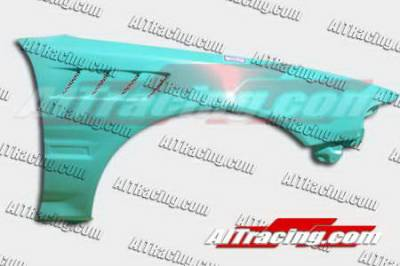 AIT Racing - Acura Integra AIT Racing Z3 Style Front Fenders - AI90HIZ3F