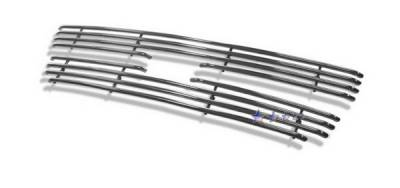 APS - Chevrolet Silverado APS Tubular Grille - Upper - Stainless Steel - C68310S