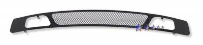 APS - Chevrolet Silverado APS Black Wire Mesh Grille - Bumper - Stainless Steel - C75767H