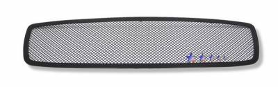 APS - Dodge Charger APS Black Wire Mesh Grille - Upper - Stainless Steel - D75320H