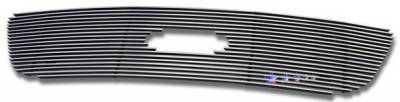APS - Ford F150 APS Billet Grille - Honeycomb Style with Logo Opening - Upper - Stainless Steel - F65722S