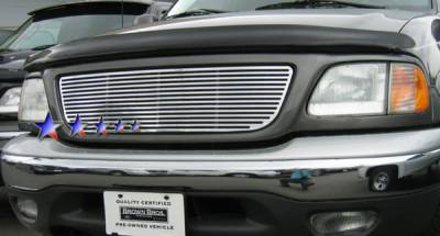 APS - Ford F150 APS CNC Grille - Honeycomb without Logo Opening - Upper - Aluminum - F95712A