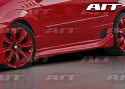 AIT Racing - Ford Focus ZX3 AIT DFS Style Side Skirts - FF00HIDFSSS3