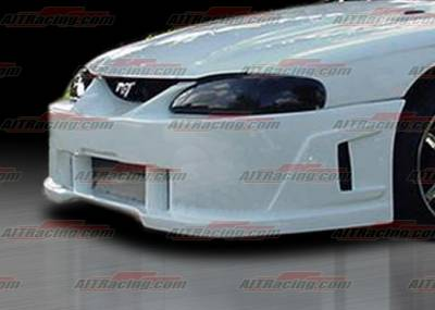 AIT Racing - Ford Mustang AIT Racing SIN Style Front Bumper - FM94HISINFB