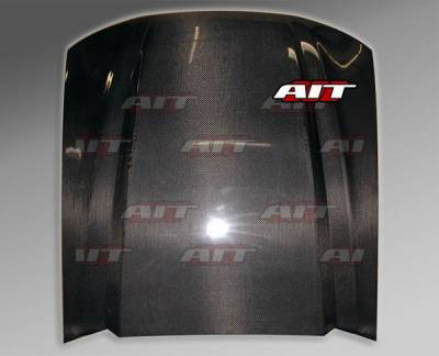 AIT Racing - Ford Mustang BMagic Type-4 Carbon FRP Hood - FM99BMT4CFH
