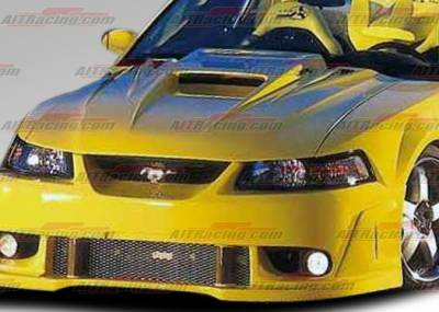 AIT Racing - Ford Mustang AIT Racing Type-5 Style Hood - FM99BMT5FH