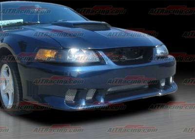 AIT Racing - Ford Mustang AIT Racing Stallion Style Front Bumper - FM99HISLNFB