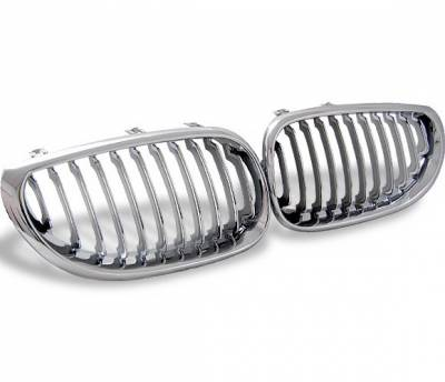 4CarOption - BMW 5 Series 4CarOption Front Hood Grille - GR-E600305XCS-A