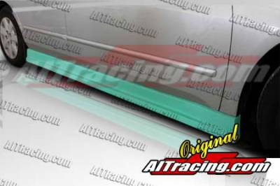 AIT Racing - Honda Accord 4DR AIT Racing C-Weapon Style Side Skirts - HA03HICWSSS4